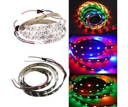 RGB LED Strip met Lengte 1M en Wisselende Kleuren