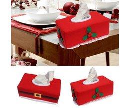 Tissuebox voor Kerst