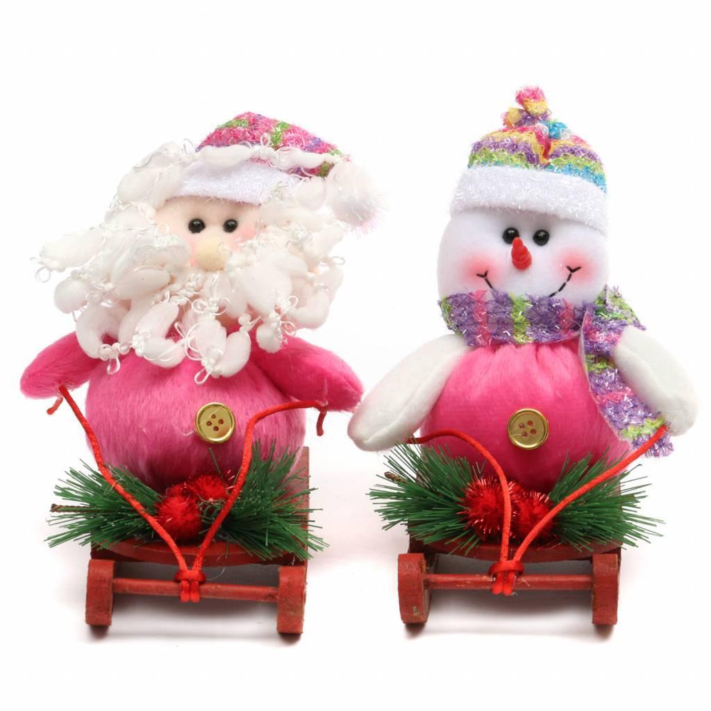 Kerstdecoratie Kerstman Sneeuwpop Online Kopen I Seoshop Nl