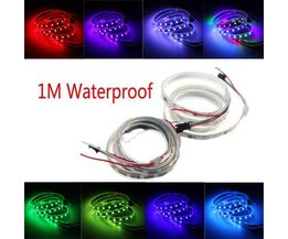 Waterproof Meerkleurige LED Strip 1M