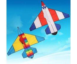 Vlieger met Vliegtuig
