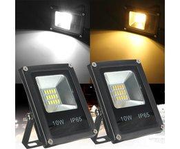LED Schijnwerper Voor Buiten In Twee Kleuren