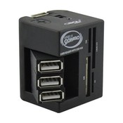 Multifunctionele USB Splitter en Kaartlezer