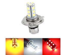 H4 LEDs voor de Auto in 3 Lichtkleuren