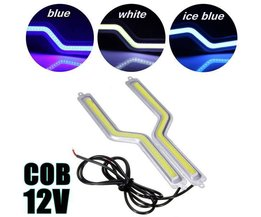 COB LED Dagrijverlichting Strips Z-vormig
