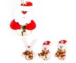 Kerstpoppetjes met Belletje voor Kerstboom