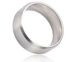 19MM Unisex Ring In Twee Kleuren