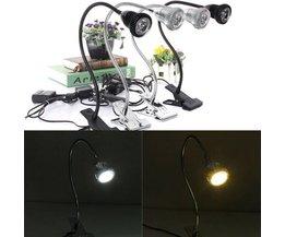 LED Tafellampen 3 WATT in 2 Kleuren