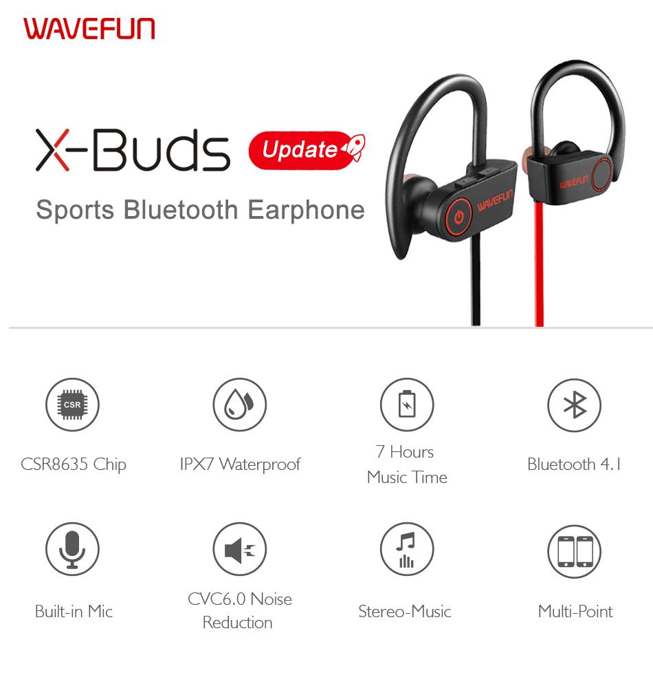 Specificaties Oordopjes Sport met Bluetooth