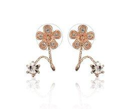 Boucles D'Oreilles Twinkling Fleurs