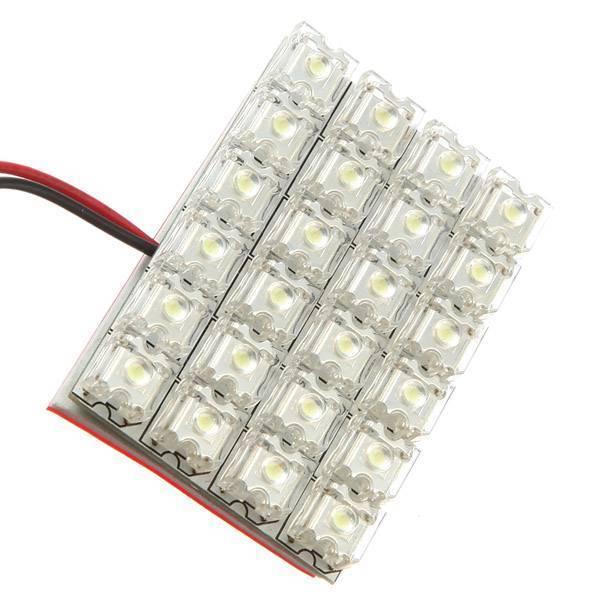 int rieur de voiture 12v blanc led light i myxlshop powertip. Black Bedroom Furniture Sets. Home Design Ideas