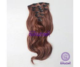 Clip En Extensions Brown (7 Pieces)