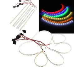 Cas De PC Flexible LED