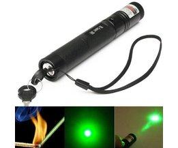 Pointeur Laser 5 Mw Avec Mise Au Point Réglable