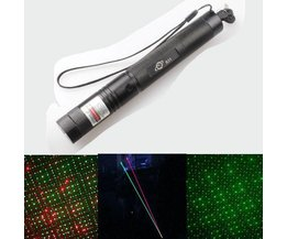 Red And Green Laser Duo Comme Breath