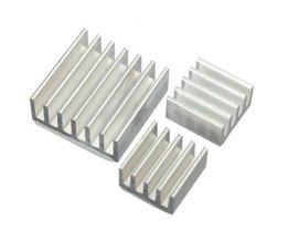 Aluminium Kit De Refroidissement Pour Raspberry Pi (15 Pieces)