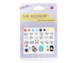 Ongles 3D Stickers