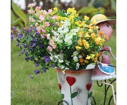 Fleurs Artificielles De Soie