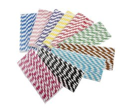 25 Papier Straws