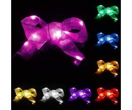 Bow Avec Des Lumières LED En Différentes Couleurs 1M