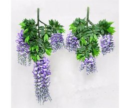 Fleur Artificielle Phalaenopsis Wisteria 70Cm / 100Cm