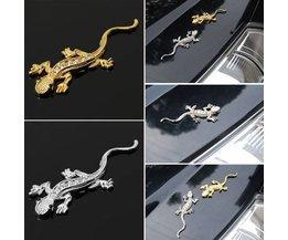 3D Gecko Autocollant Pour Voiture