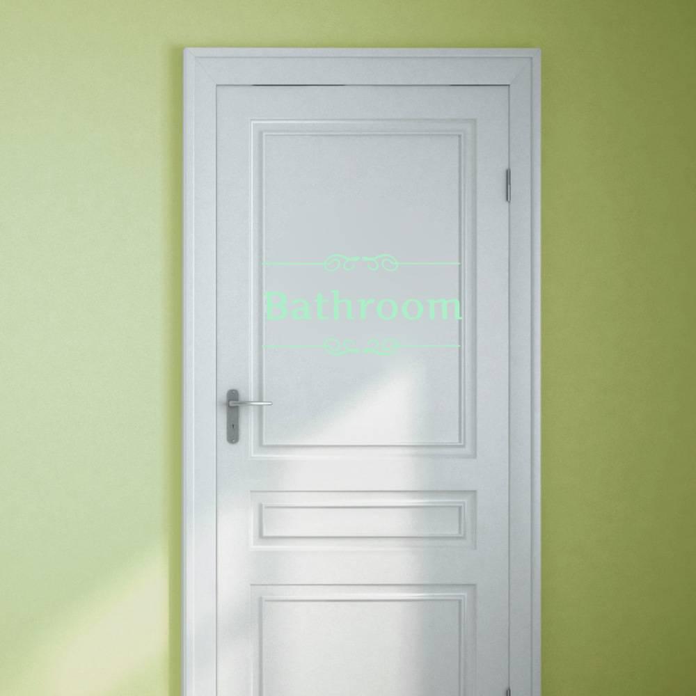 Salle de bains porte autocollant en ligne je myxlshop tip for Porte pour salle de bain