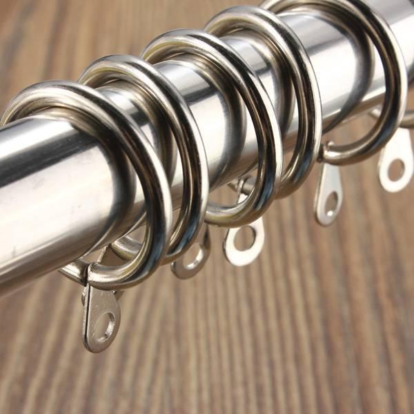 Rideau de douche anneaux en acier inoxydable acheter? Je MyXLshop