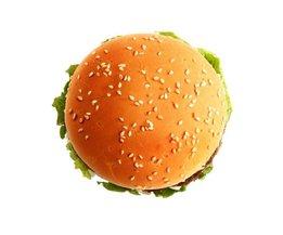 Mousepad Drôle PAG Avec Hamburger