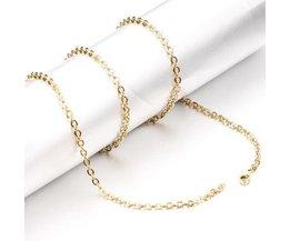 Or Coloré Chain Link