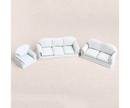 Miniature Sofa Set Pour Dolls 1:30