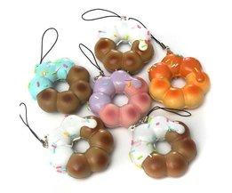 Pendentif Heureux Donut À Votre Smartphone