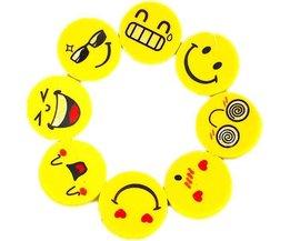 4 Pièces Smiley Gum