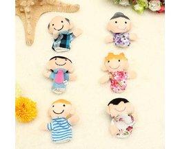 6 Marionnettes À Doigt