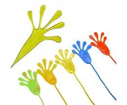 Mains Pâte Collante Pour Enfants
