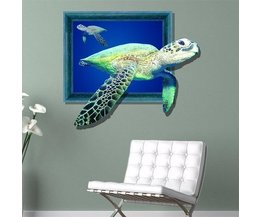 PAG 3D Tortue Wall Decal