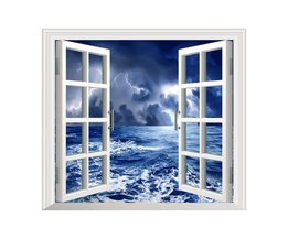PAG Stickers Stickers Muraux 3D Storming Sea