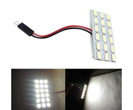 LED Intérieur Voiture 5630 18SMD Blanc