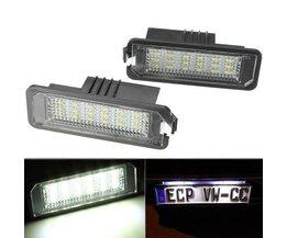 Éclairage LED License Plate Pour Volkswagen Et Porsche