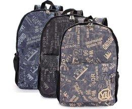 Robuste Canvas Backpack Men