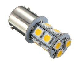 Lampe LED Auto Lumière Blanche Chaude