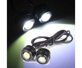 LED Feux De Moteur Lumières Phares Anti-Brouillard