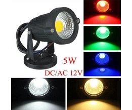 5W LED Lampes De Jardin En Plusieurs Couleurs