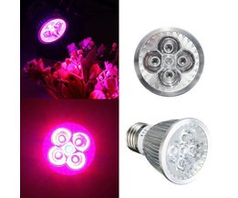 15W LED Grow Light Avec E27 Fitting
