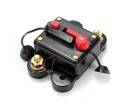 Power Switch Avec Le Bouton De Réinitialisation Pour Les Systèmes Vidéo Et Audio