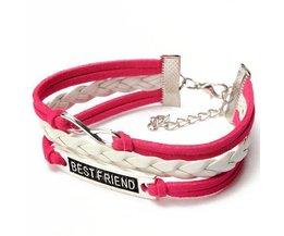 Combinaison De Bracelets En Cuir
