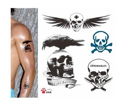 Collez Avec Tatouages Skulls