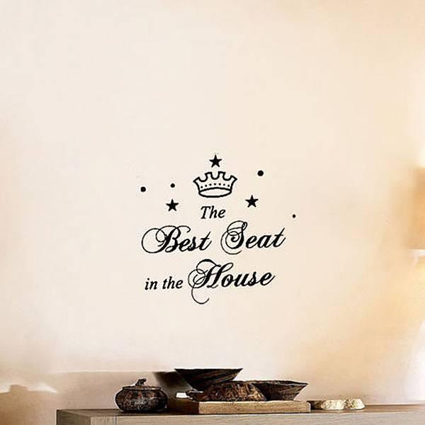 autocollant de toilettes acheter vinyle je myxlshop tip. Black Bedroom Furniture Sets. Home Design Ideas