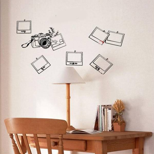photo frame autocollant mural en ligne je myxlshop. Black Bedroom Furniture Sets. Home Design Ideas