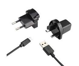 Chargeur USB Micro Avec L'UE Et UK Plug